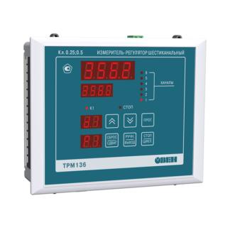 ТРМ136 шестиканальный регулятор с RS-485 ОВЕН