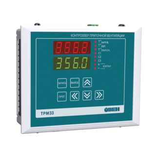 ТРМ33 контроллер для вентиляции ОВЕН