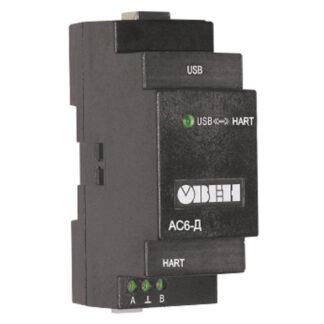 АС6-Д преобразователь интерфейсов (модем) HART-USB ОВЕН
