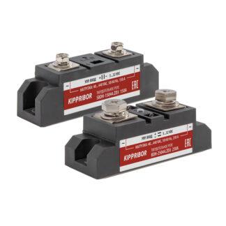 BDH-xx44.ZD3 и SBDH-xx44.ZD3 твердотельные реле для коммутации мощной нагрузки в корпусе промышленного стандарта ОВЕН