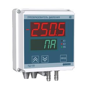 ПД150 электронный измеритель низкого давления для котельных и вентиляции ОВЕН