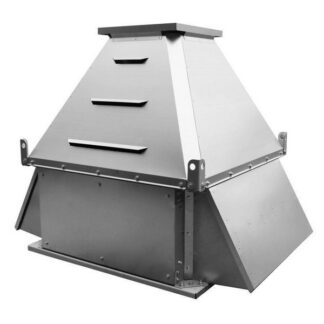 Вентиляторы крышные с факельным выбросом потока ВКРФ ДУ