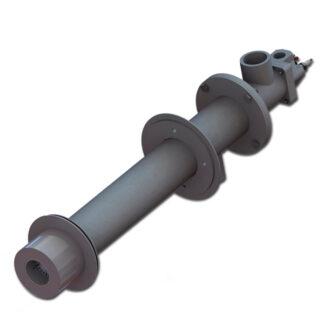 ПРОМА-ГГ1, горелка газовая с монтажной трубой (сводовая) ПРОМА