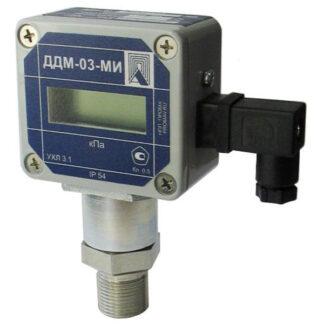 ДДМ-03-МИ, ДДМ-03-МИ-Ех, датчики избыточного, вакуумметрического абсолютного и дифференциального давления с электрическим выходным сигналом ПРОМА